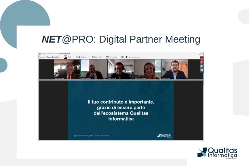 NET@PRO Evento di canale