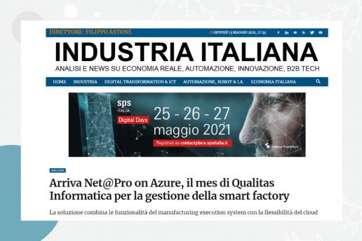 Industria italiana racconta di NET@PRO on Azure