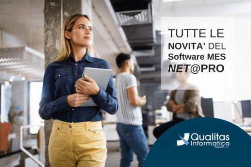 Software MES NET@PRO - Le novità